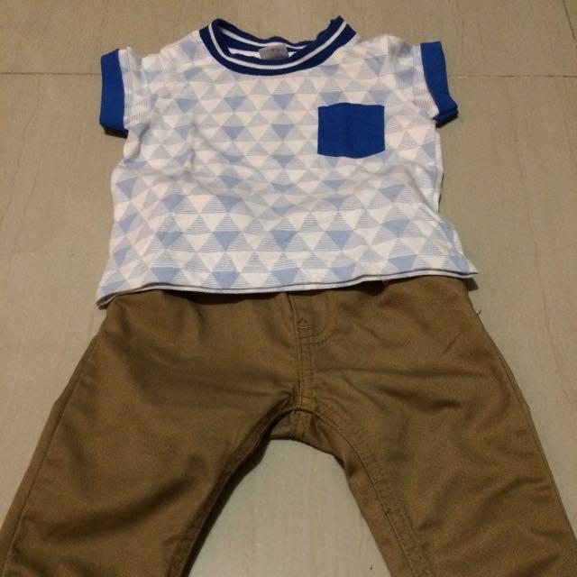 Sale!!! Boys Shirt & Pants (Repriced)
