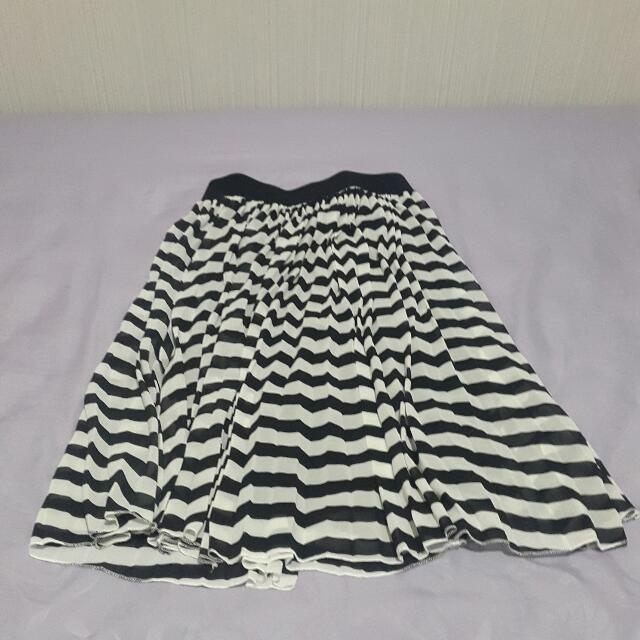 ChicSimple Stripes Skirt