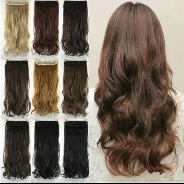 Clip On Hair Extensions Manila Preloved Health Beauty Hair Care