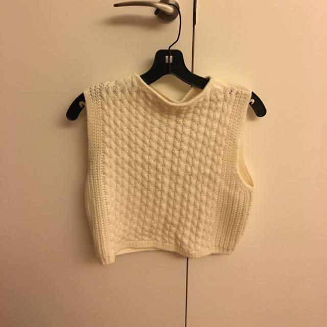 紐約人氣精品-Club Monaco 羊毛短版背心 (含運)