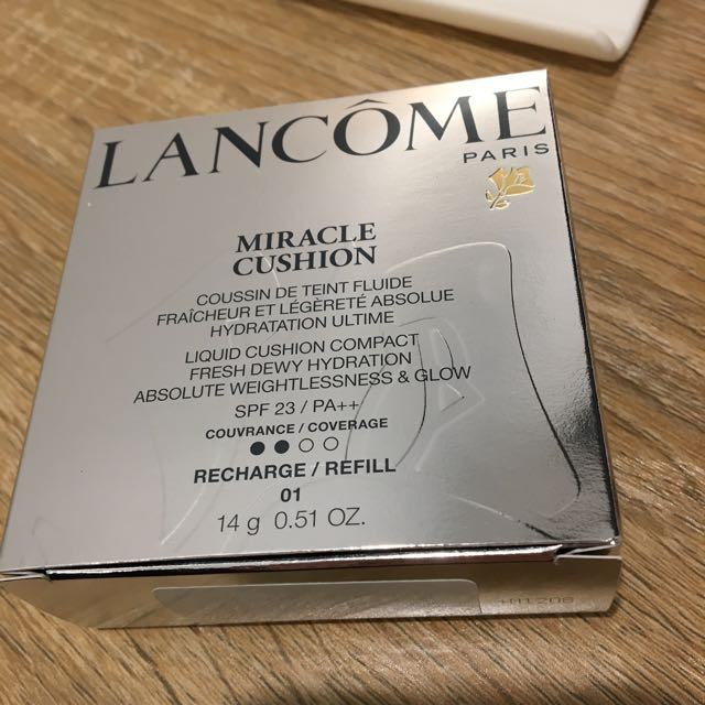 Cushion Miracle By Lancome Shade 01 Refill