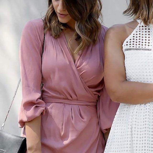 Decjuba X Friend In Fashion Wrap Dress