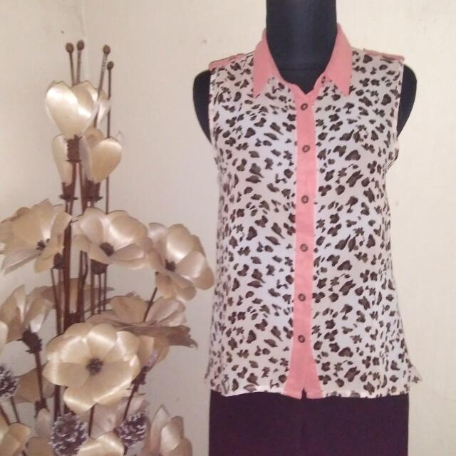 E M Fullprint Blouse