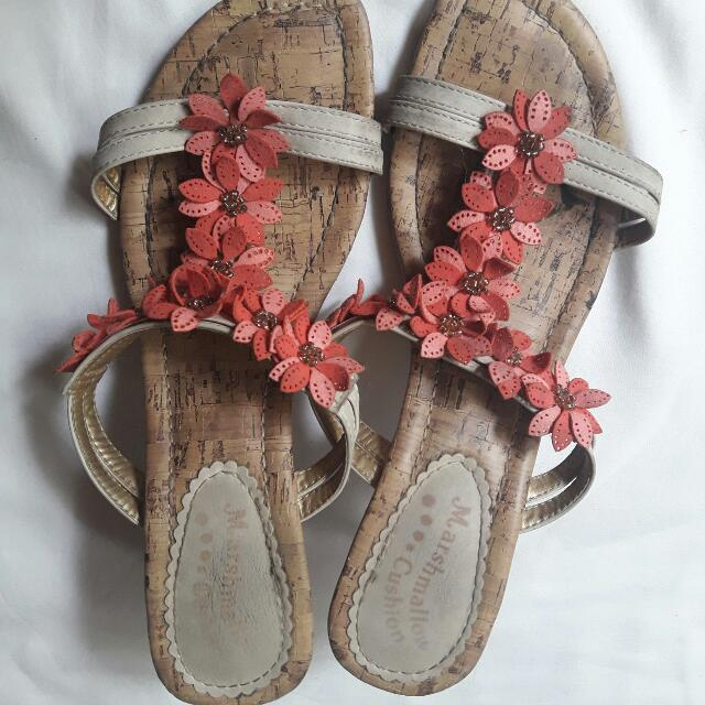 Floral Step-in Shoes