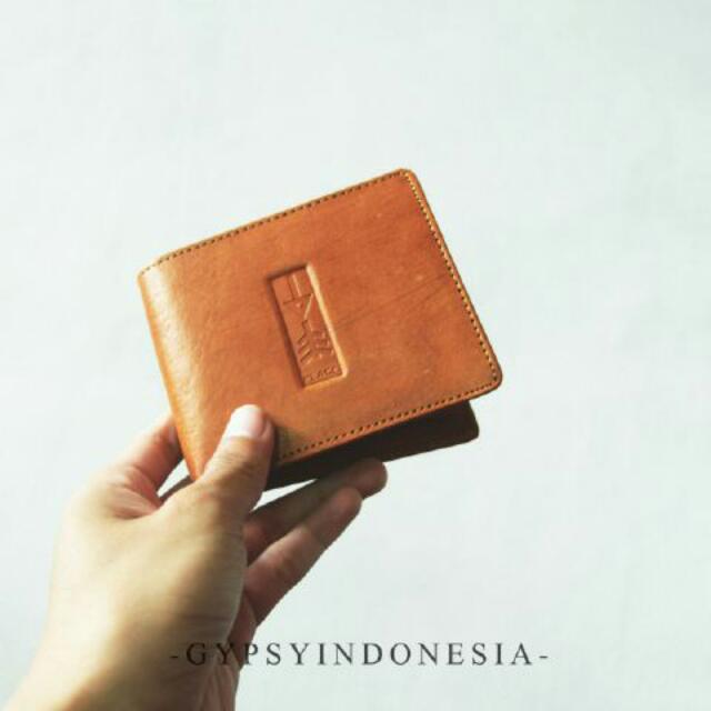 Gypsy Leather Wallet (Handmade)