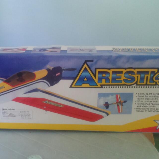 HANGAR 9 ARESTI 40 Remote Control Airplane Mainan Game Alat Lain Di Carousell