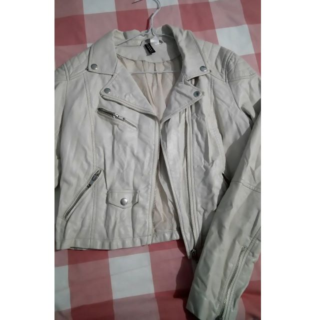 H&M (Divido) Synthetic Leather Jacket (PRELOVED)