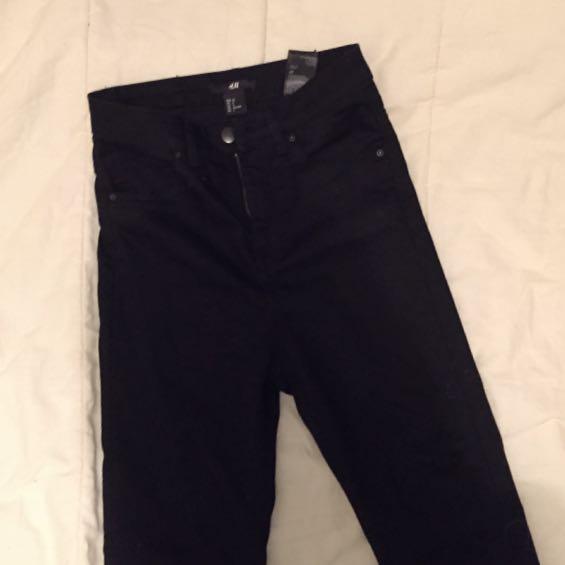 H&M Skinny-High Waist Jeans