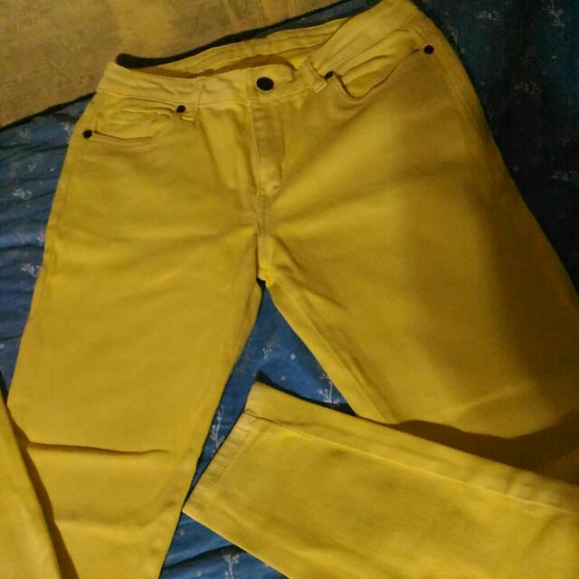 Human Yellow Jeans