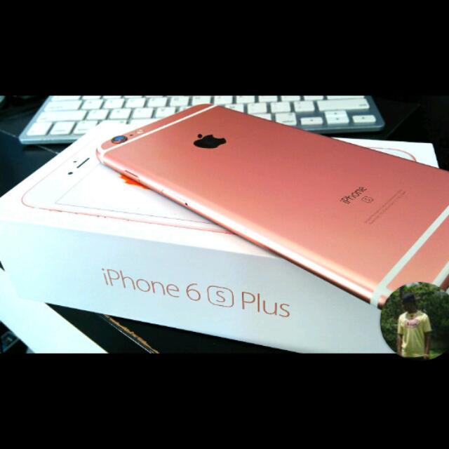 IPHONE 6s+ Rose Gold 128gb