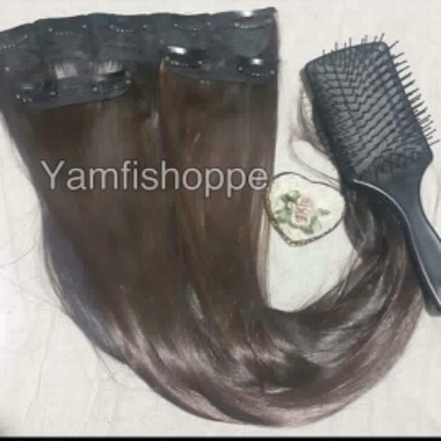Japanese Hair Extensions Preloved Health Beauty Hair Care On