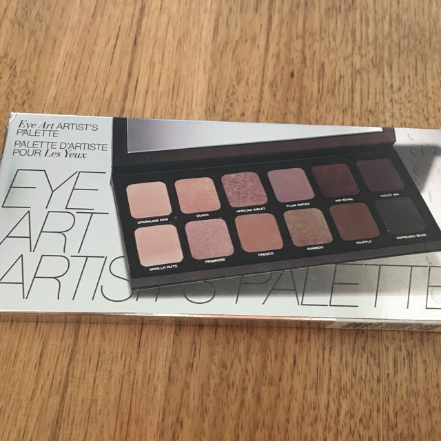 Laura Mercier Eye Art Artist Palette