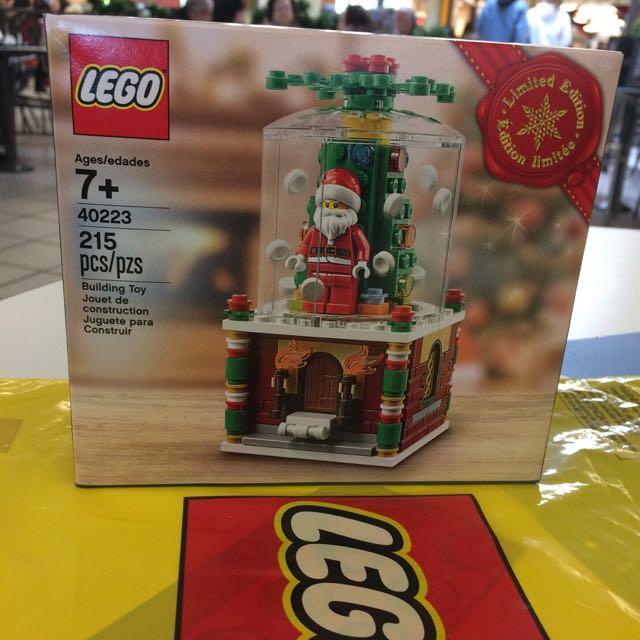 【全新現貨】Lego 40223聖誕老公公的抽屜