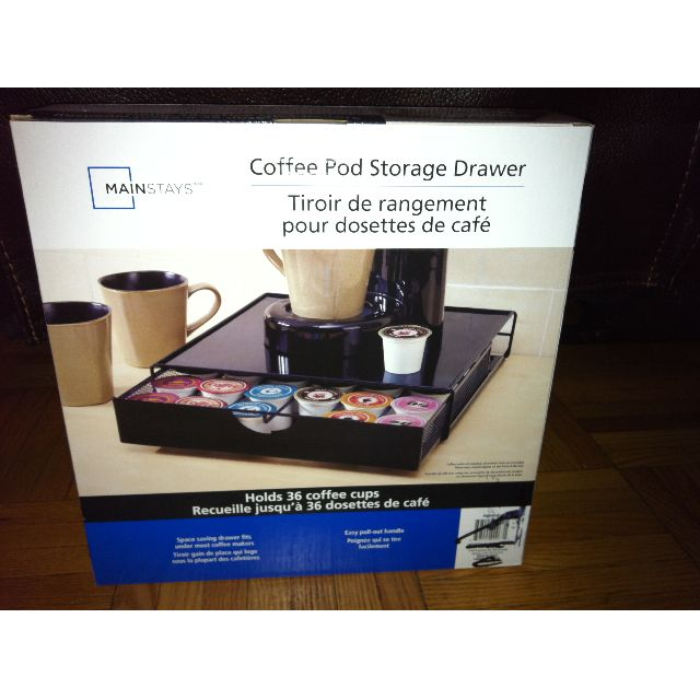 Mainstays 36-Pod Coffee Storage Drawer - ( I HAVE 3) @  $10 EACH