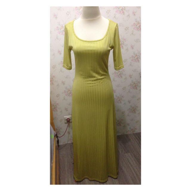 maxi dress (bikini outer)