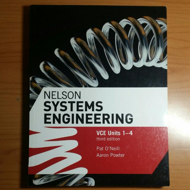 NELSON Systems Engineering VCE UNITS 1-4