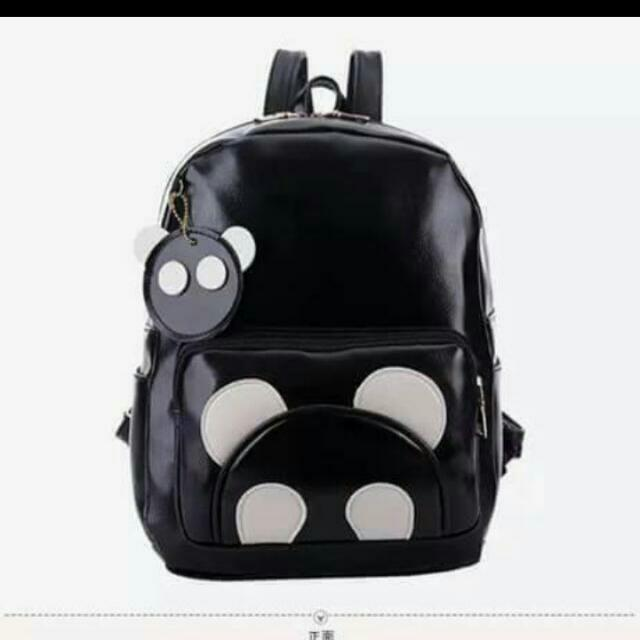 Onhand Backpack Panda leather