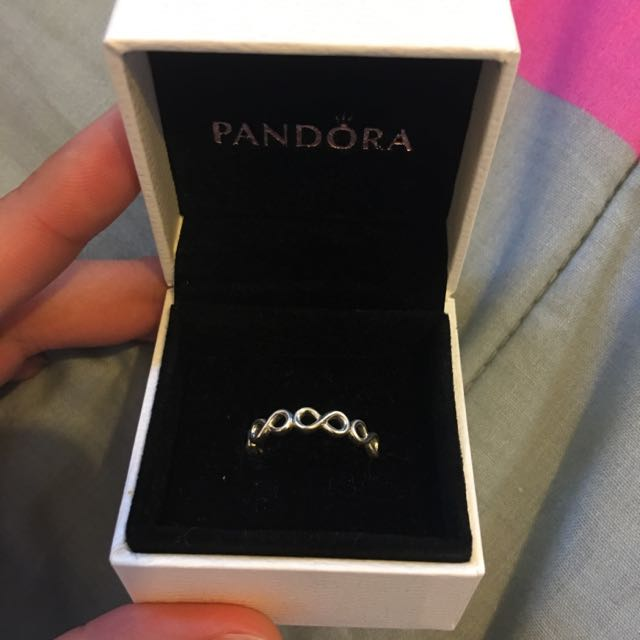 PENDING///Pandora Infinity Love Ring Band