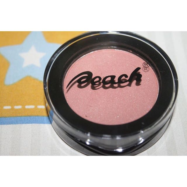 Peach Blush On