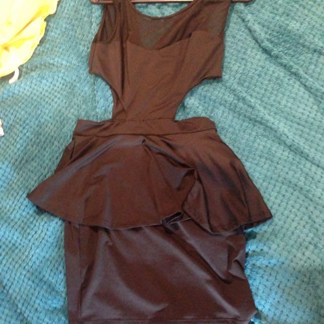 Peplum Pencil Dress