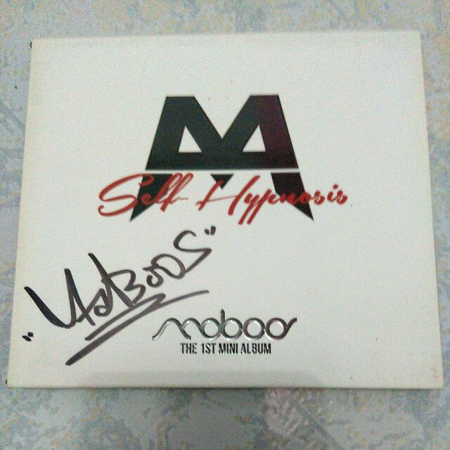 Signed CD 1st Mini Album Maboos - Self Hypnosis