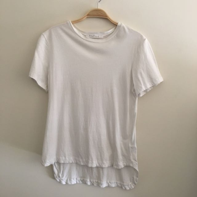 Skin And Threads White Tee