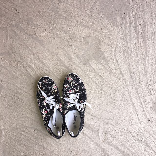Streetwear Society Floral Canvas Shoes