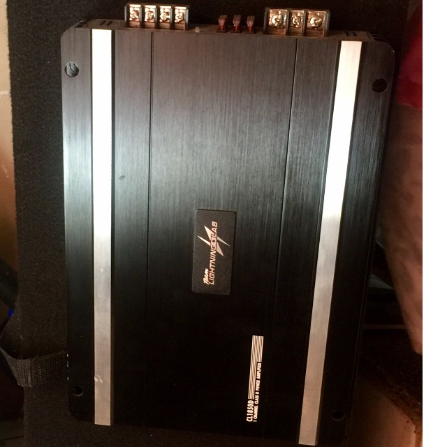Subwoofer and Ampli with Box