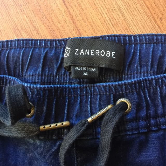 Zanerobe Sureshot Jogger Pant - Blue Black