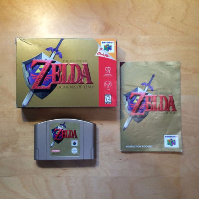 Zelda Ocarina of Time - Complete in Box (Nintendo 64, N64) AUS PAL