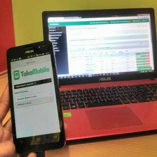 Aplikasi Online Ahop Sendiri