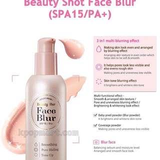 Beauty Shoot Face Blur