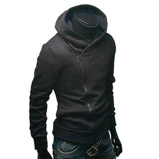 (XXL) Black Assassin's Creed styled jacket