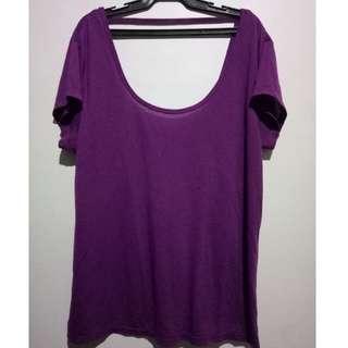 Original Purple Volcom Blouse