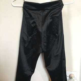 American Apparel Style Disco Pants XS