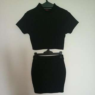 Black Co Ord Set