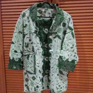 Baju Hem batik