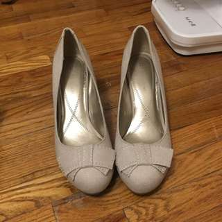*Price Reduced* Beige Pumps Size 8