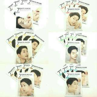 FORENCOS 7 Days Mask Pack Song Joong Ki