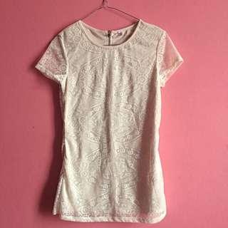 Kaos Lace / Atasan Lace / Top Lace