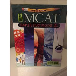Exam Crackers MCAT Complete Study Package