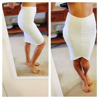White Skirt Kookai