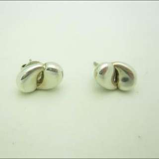 Authentic Tiffany And Co Silver Earrings