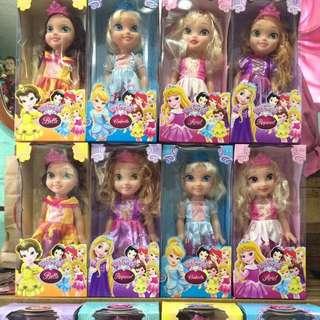 15 inches Disney Princess Big Eye Doll