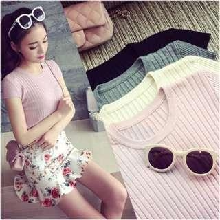 [INSTOCK] Knit Shirt Top