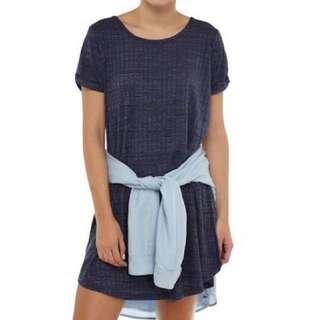 Cotton On Tshirt Dress (Maroon)