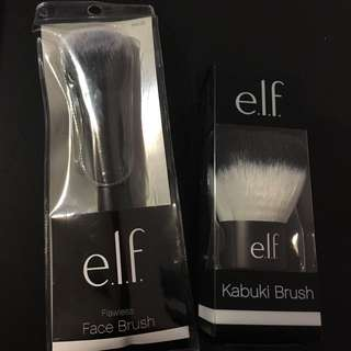 BNIP ELF Face Brushes