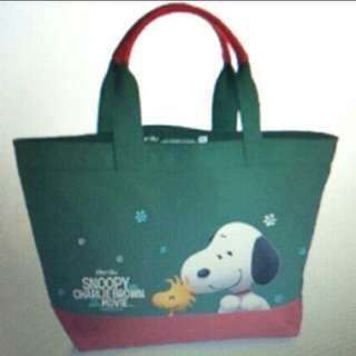NEX Charlie Brown N Snoopy Tote Bag