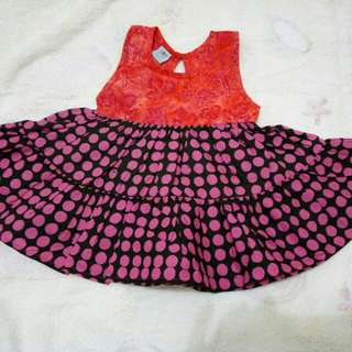 Batik Dress For Baby Girl
