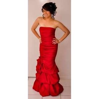 Ball Gown Red 'Mr K' Brand